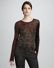 NWT $235 THEYSKENS THEORY Knupa Open Knit Ombre Mohair Sweater Fits Like Sz S