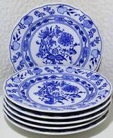 Zwiebelmuster Bohemia Original Porzellan Tellerset für 6 Personen 18- teilig NEU