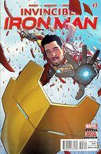 INVINCIBLE IRON MAN #3 STANDARD COVER