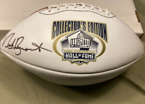 NFL Hall of Fame Football Signed ClassOf 2001 Nick Buoniconti Miami Dolphins