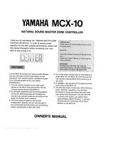 Yamaha MD4S Minidisk Recorder Owners Manual