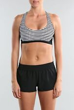 RUSTY - PANTHER CROP TOP - WHITE STRIPE - TALLA/SIZE 10 (M)