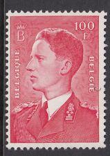 BELGIUM : 1958 King Baudouin  100F rose-carmine   SG 1397 MNH
