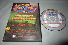 Martin Hash's Animation Master Pro Series Training Videos Siggraph 2006 DVD-ROM