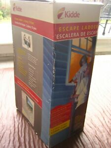 New & Unused Kidde Fire Escape Ladder. 2 Storey, 13 Feet ft. Strong, Lightweight