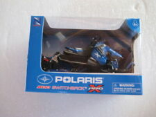NEW RAY POLARIS 800 SWITCHBACK PRO-X  SNOWMOBILE 1/16 BLUE