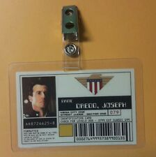 Dredd ID Badge- Joseph Dredd prop costume cosplay