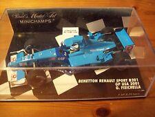 1/43 Benetton B201 2001 Giancarlo Fisichella GP USA