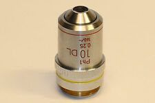 Nikon 10X/0.25 160/- Ph1 DL Microscope Objective; excellent condition