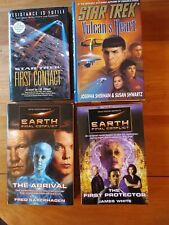 Star Trek/ Earth Final Conflict/4 Books Total