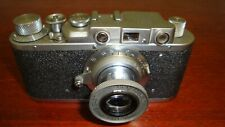 Russian Leica Copy D.R.P. ERNST LEITZ WETZLAR WW2 Vintage 35MM Camera SN247958
