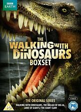 Walking With Dinosaurs Collection (DVD, 2013, 4-Disc Set, Box Set) New & Sealed
