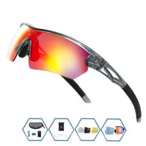 Polarized Men Women Cycling Glasses MTB Bicycle Bike Goggles Sunglasses Eyewear