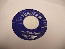 Gerry Granahan Girl of My Dreams/No Chemise vinyl 45 RPM Sunbeam Records VG