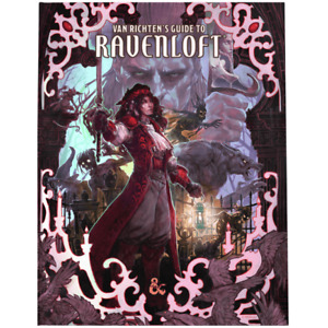 Dungeons and Dragons: Van Richten's Guide to Ravenloft Alternative Cover