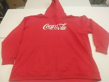 RED COCA-COLA HOODIE 4XL