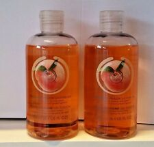 2 x The body shop Vineyard Peach shower gel 250ml