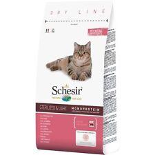 Schesir Cat Sterilized & Light con Prosciutto Kg.1,5 Croccantini Gatti Adulti