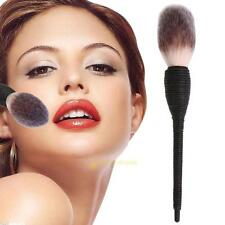 Handmade Makeup Cosmetic Rattan Goat Hair Brush Blush Powder Brush Foundation