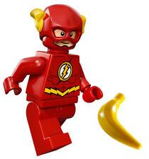 "NEW LEGO ""THE FLASH"" MINIFIG dc super hero figure minifigure 76012 76026 heroes"