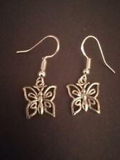 Butterfly Butterfly Hoop Costume Earrings