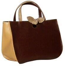 Sac à main ou bandoulière marron beige Made in Italy 1420