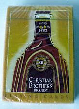 CHRISTIAN BROTHERS BRANDY PLAYING CARDS DECK NEW SEALED