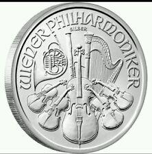 AUSTRIA 1,50 euros plata 2011 Violines 1 onza Austrian Philharmonic Silver Coins