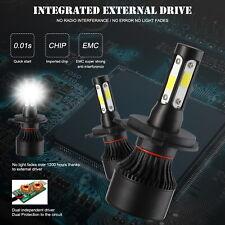 2pcs H4 LED Headlight Bulb Light Hi/Lo Beam KIT 300W 36000LM VS Xenon HID White