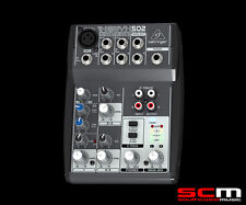 XENYX 502 MIXER COMPACT PA AUDIO MIXING by BEHRINGER BRAND NEW with WARRANTY
