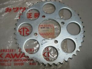 KAWASAKI NOS REAR SPROCKET 42041-102 43T  S2 S2A  & Option for  S3 & KH400