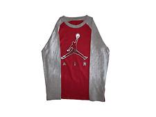 Big Boys Jordan Jumpman Long-Sleeve T-Shirt (M)