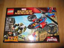 LEGO 76016 Marvel Super Heroes Ultimate Spider-man Spider Helicopter Rescue