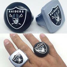Oakland Raiders NFL Foam Fan Rings Accessory Decoration Team Pride