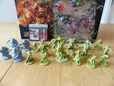 Zombicide: Green Horde: Kickstarter Exclusive Fatty Bursters, Horde Tile + Orcs