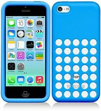 Lot of 10 Apple iPhone 5C - Slim Fit Design Silicone Dot Case GENUINE APPLE ™