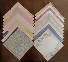 DCWV FAIRNTALE DREAMS LOT of 18 Double-sided 12 X 12 Printed Cardstock Scrapbook