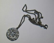 tone Costume Jewelry Sweet 16 Necklace Siver