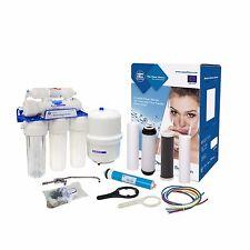 Aquafilter 6 Stufen Umkehrosmose Trink Wasserfilter Osmose Anlage der Oberklasse