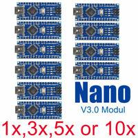 Arduino Nano V3.0 Multipack Compatible- ATmega328 5V 6PWM 16MHz