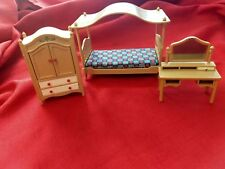 Tomy Japan Dollhouse Furniture Bedroom  pre-owned