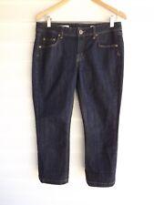 Jag Women's Blue 'Mid Rise, Reg Fit, Crop' Jeans - Size 12
