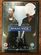 Colin Farrell Jamie Foxx MIAMI VICE | 2006 Crime Thriller Movie | UK Rental DVD