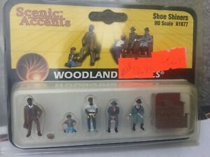 WOODLAND SCENICS # A 1935   HO SCALE BACK YARD BIRTHDAY PARTY FIGURES