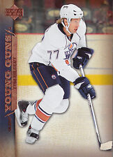 07-08 UPPER DECK YOUNG GUNS ROOKIE RC #220 TOM GILBERT OILERS *27711