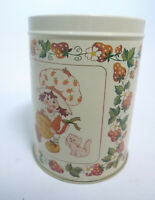Vintage Strawberry Shortcake Tin Bristol Ware 1981 American Greetings NO LID