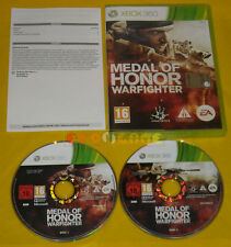 MEDAL OF HONOR WARFIGHTER XBOX 360 Versione Italiana 1ª Edizione »»»»» COMPLETO