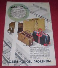 versandhaus mini katalog rob. klingel glückliche reise prospekt heft 1960er alt