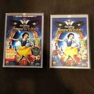 Snow White and the Seven Dwarfs (Blu Ray + DVD) 2009 3-Disc Set Diamond Edition