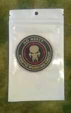 PVC No Mercy Kinetic Working Group Hook-Back Morale Patch